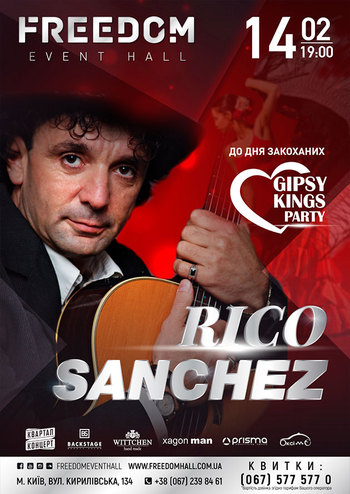 Rico Sanchez Gipsy Kings Party